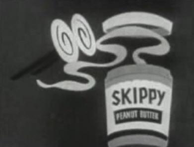 1950s Skippy peanut butter ad
