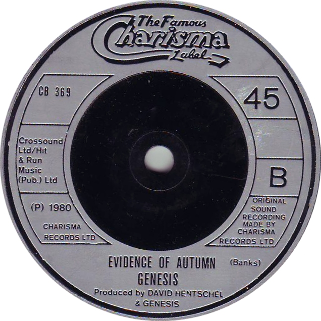 "Genesis - ""Evidence of Autumn"""