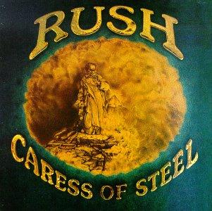 Rush - Caress of Steel album cover