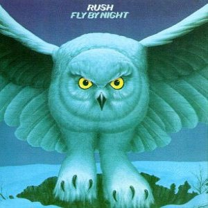 Rush - Fly By Night album cover