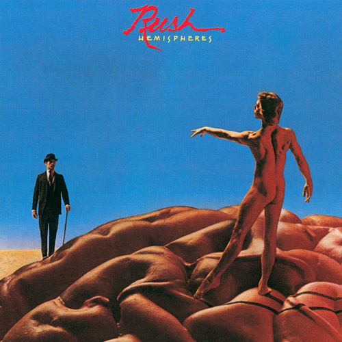 Rush - Hemispheres album cover