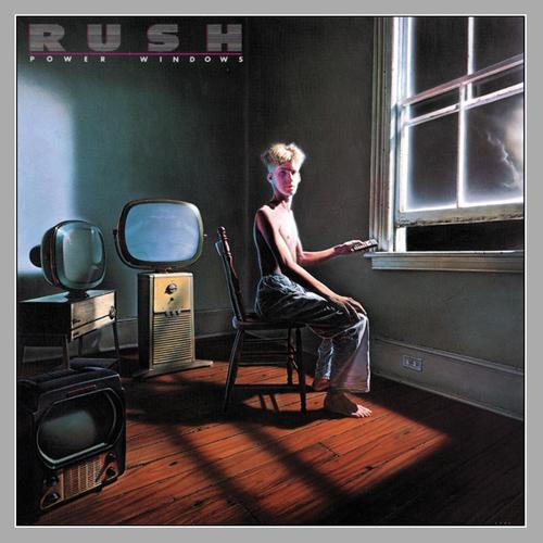 Rush  - Power Windows album cover