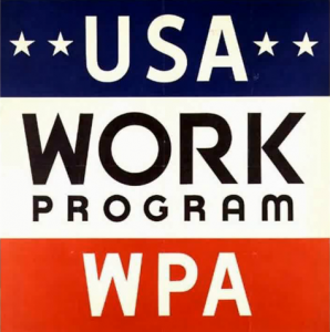 Works Progress Administration (WPA) logo
