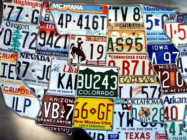 Countdown: 10 Most Attractive U.S. License Plates