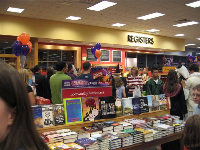 Harry Potter and the Deathly Hallows book release event