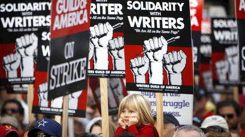 Writers Guild of America (WGA) strike