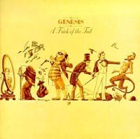 Genesis - A Trick of the Tail (1976) album cover