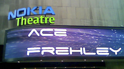 Ace Frehley - Nokia Theatre, April 4, 2008