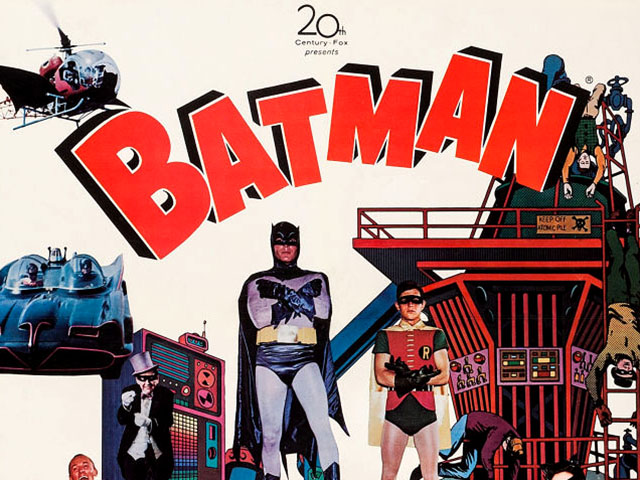 Retrotisements: Batman 1966 Movie Posters