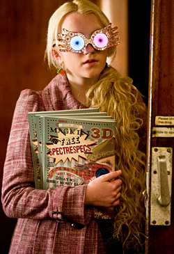 Luna Lovegood in Harry Potter and the Half-Blood Prince