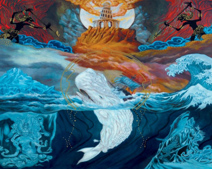 Mastodon - Leviathan expanded album art