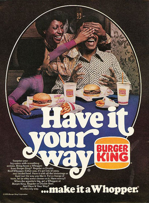 Retrotisements – Burger King '76