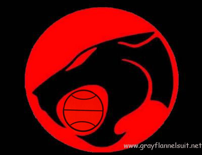 Oklahoma City Thunder logo alternate - Thundercats!