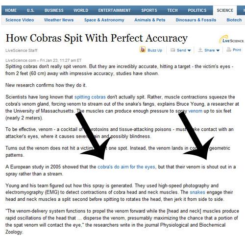 Cobras!