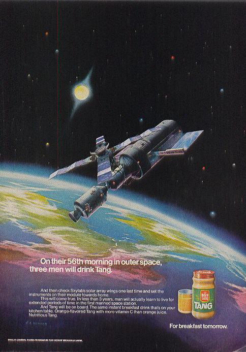 Tang 1971 Skylab ad