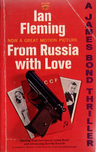 From Russia With Love 1963 Signet paperback