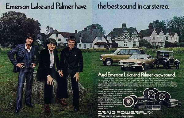 ELP Craig Powerplay stereo ad