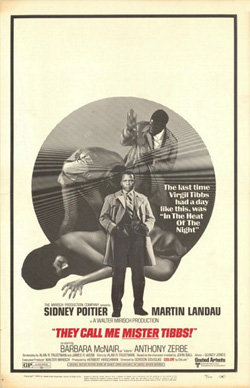 They Call Me MISTER Tibbs! (1970) movie poster