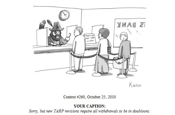 My entry in New Yorker caption contest #260