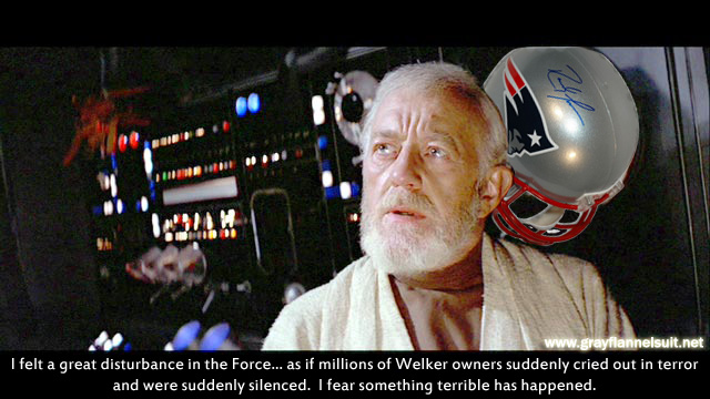 Obi-Wan Kenobi reacts to the Randy Moss trade