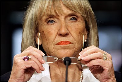 Separated at Birth? (Jan Brewer and Bernadette Basinger/Ralph Waite)