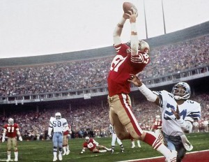 The Catch – Cowboys vs. 49ers, January 10, 1982