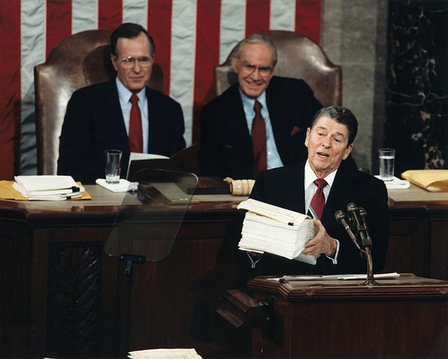 Ronald Reagan, 1988 State of the Union Address