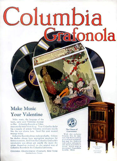 Columbia Grafonola, 1921