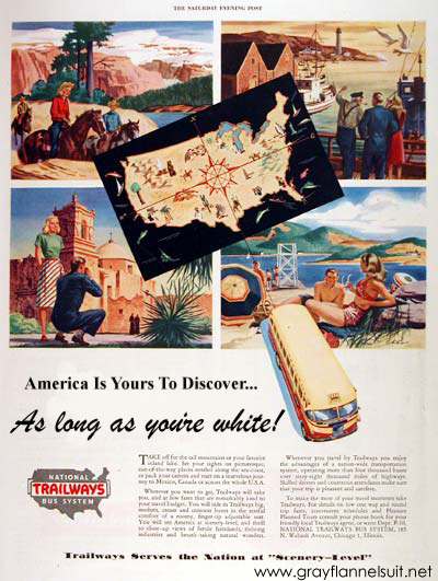 Almost Ads — National Trailways Bus System