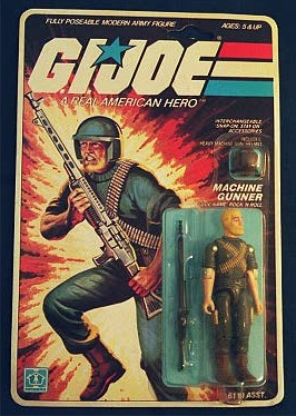 G.I. Joe - Rock 'n Roll action figure box