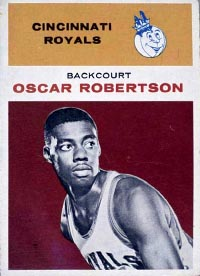 Oscar Robertson of the Cincinnati Royals/Sacramento Kings