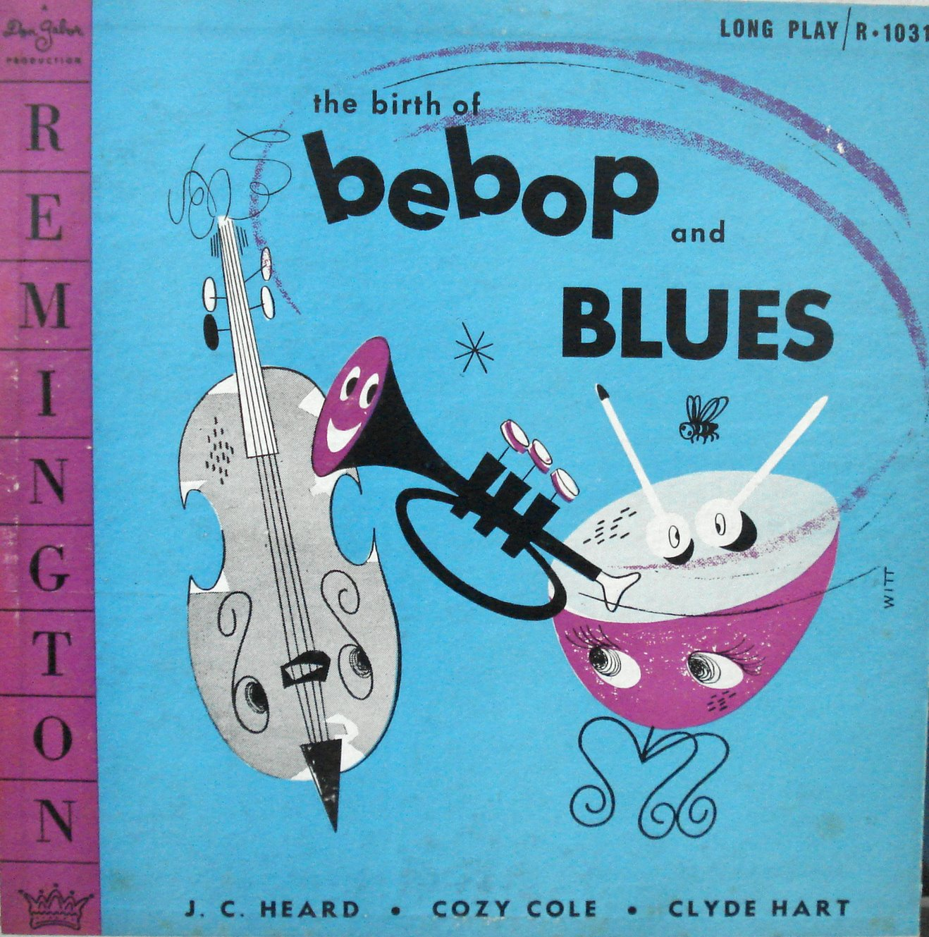 Album cover of the week: The Birth of Bebop and Blues
