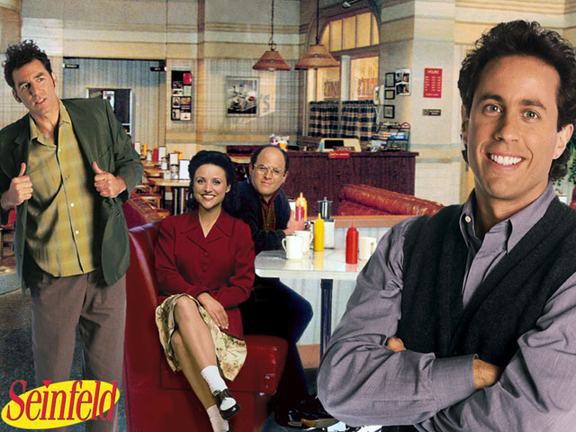 Seinfeld cast photo