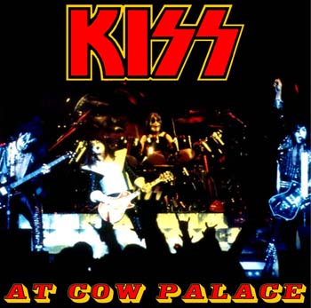 Kiss at the Cow Palace, San Francisco, 1977