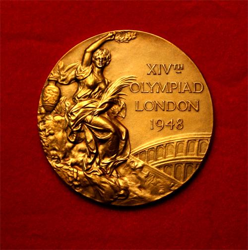 1948 London Summer Olympics gold medal
