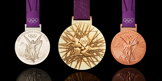 Presenting your 2012 London Olympic medal designs