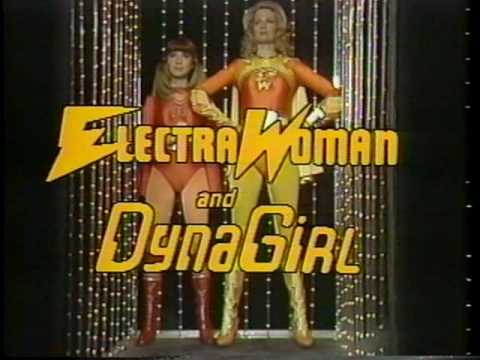 Vintage View-Master: Electra Woman and Dyna Girl, reel 1
