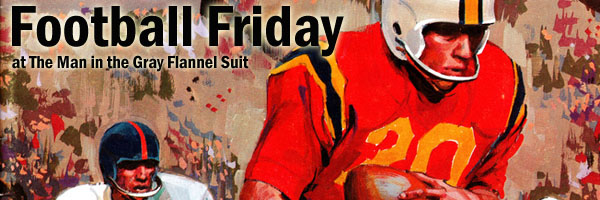 Football Friday at The Man in the Gray Flannel Suit
