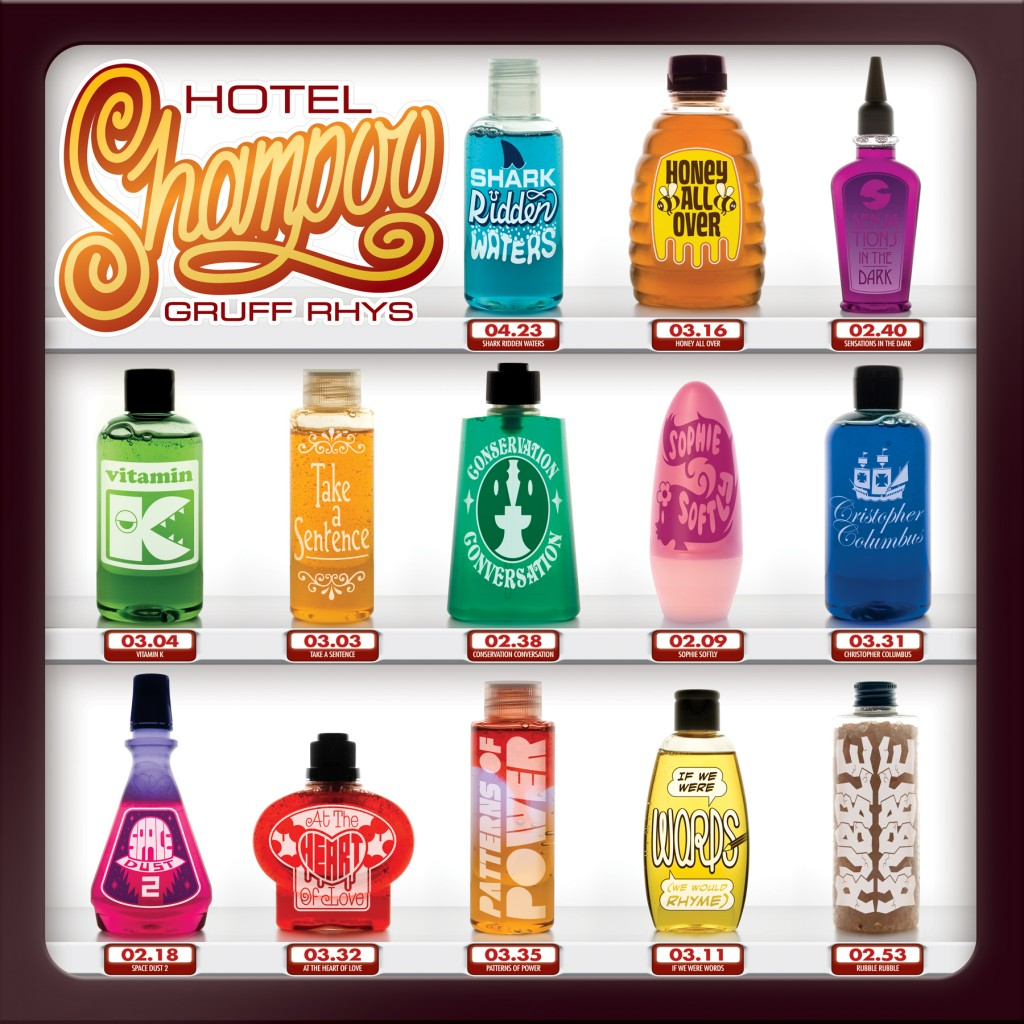 Album cover of the week: Hotel Shampoo