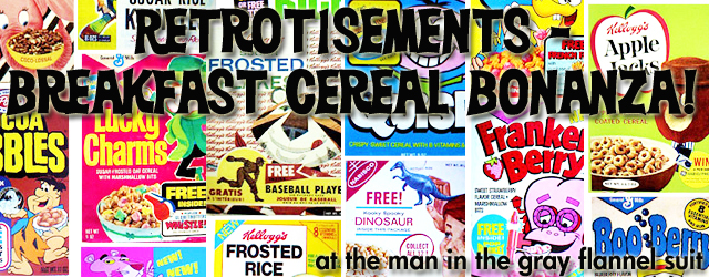 Breakfast Cereal Bonanza!