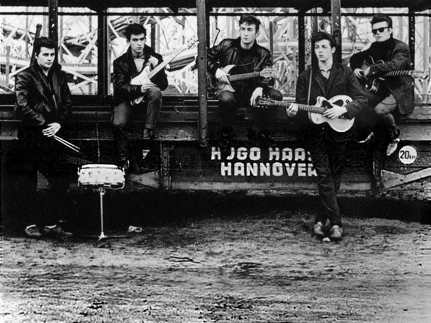The Beatles in Hamburg, Germany 1960