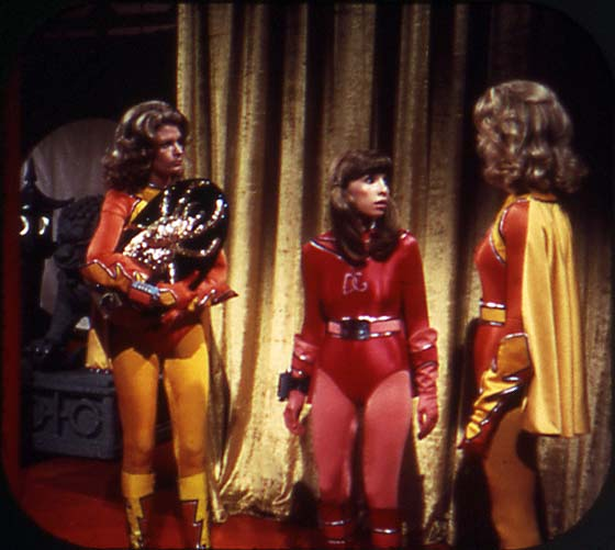 Vintage View-Master: Electra Woman and Dyna Girl, reel 2