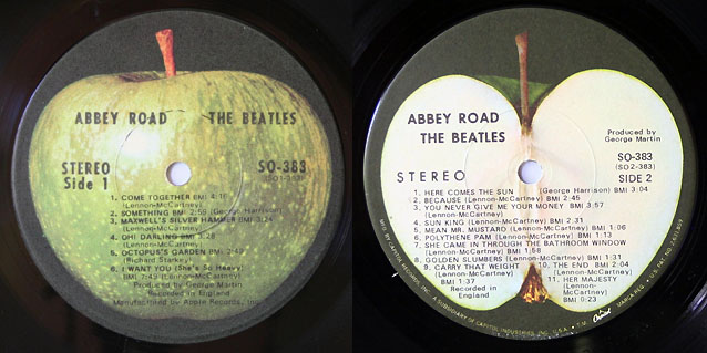 The Beatles, Abbey Road (Apple Records)