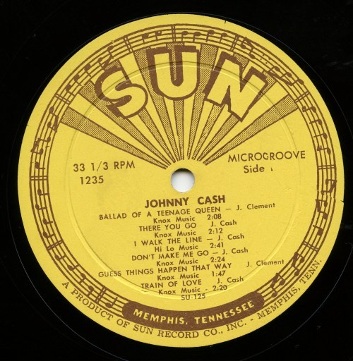 Johnny Cash Sings the Songs That Made Him Famous - Sun Records