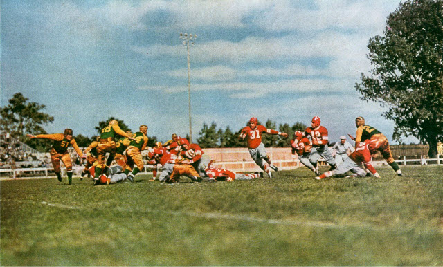 Green Bay Packers vs. Chicago Cardinals at City Stadium - September 13, 1936