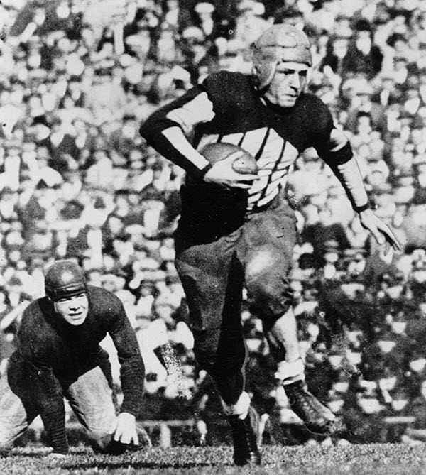 "Red ""The Galloping Ghost"" Grange of the Chicago Bears (c. early 1930s)"