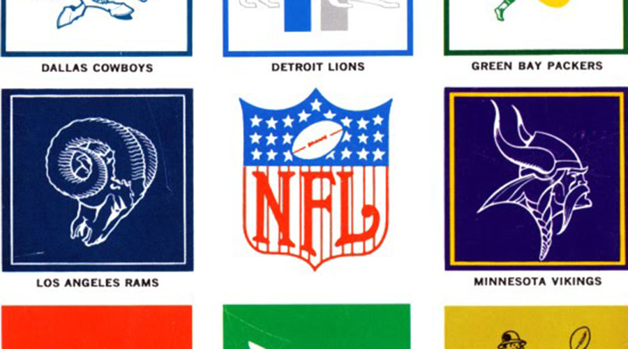 Football Friday: The NFL, Its Logos, and You (1964 Style)