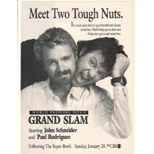 Grand Slam (CBS, 1990) print advertisement