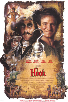 Hook movie poster (1991)