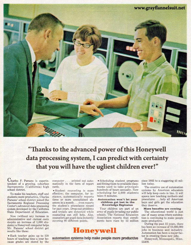 Almost Ads — Honeywell Automation System, 1966